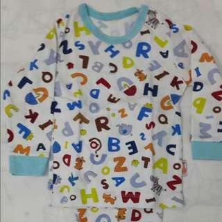 Piyama Anak Alphabet