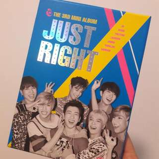 [SOLD] Unsealed GOT7 3rd Mini Album JUST RIGHT
