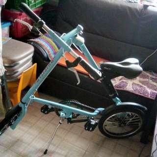 "NAKATA 16"" 成人摺合單車 Adult Folding Bike"