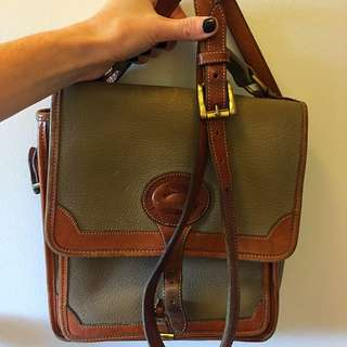 Vintage Dooney & Burke Messenger Bag