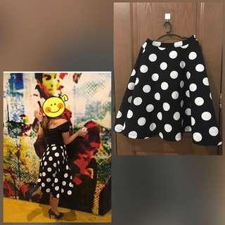 Retro Skirt - Polka