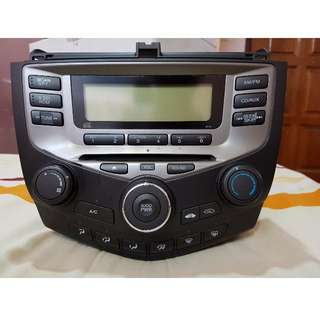 Honda Accord 2004 2005 2006 2007 CD player Radio