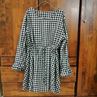 Checkered Dress .