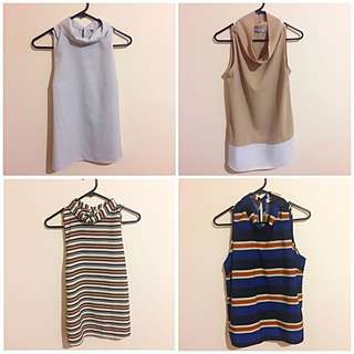 Blouse/tops x 4