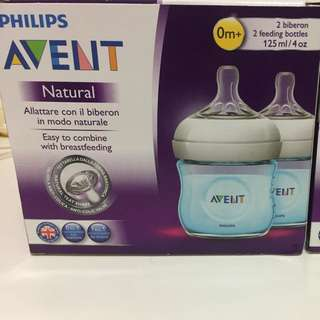 Philips AVENT Natural 125mL/4oz Twin Pack & Single