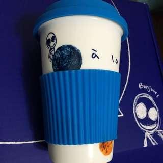 全新☕️a la sha陶磁杯