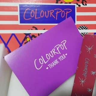 Authentic Colourpop LipTrios