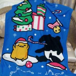 蛋黃哥 馬來膜耶誕毯