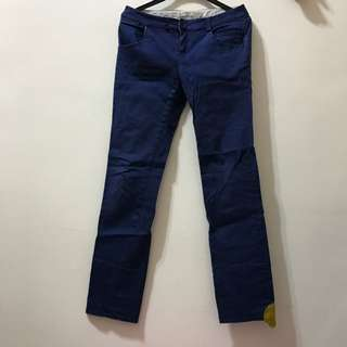A La Sha直筒褲