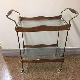 Retro tea cart