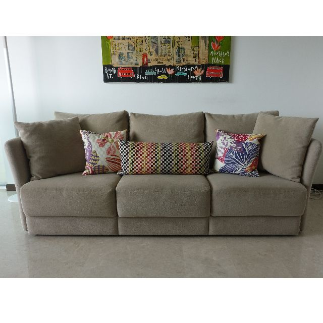 3 Seater Fabric Sofa From Abitex Sofas For Sale 85 Off Original