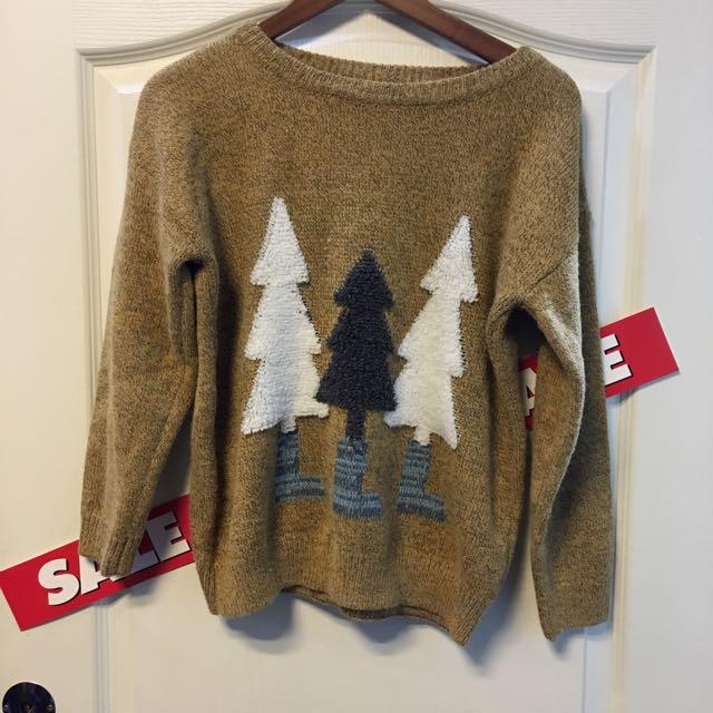 日系可愛毛衣