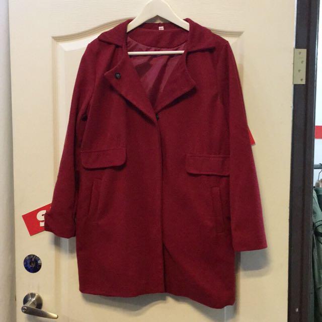紅色大衣(可議價!)