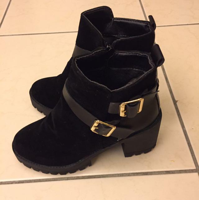 二手 韓版 短靴