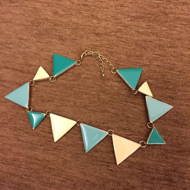 日本購入 項鍊 幾何項鍊 三角形