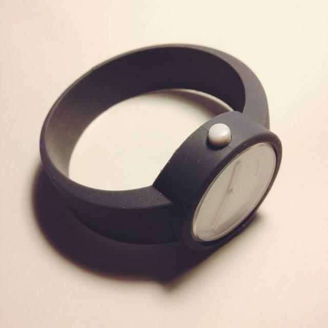 義大利品牌 O Clock 手錶 錶帶 昏灰色 M