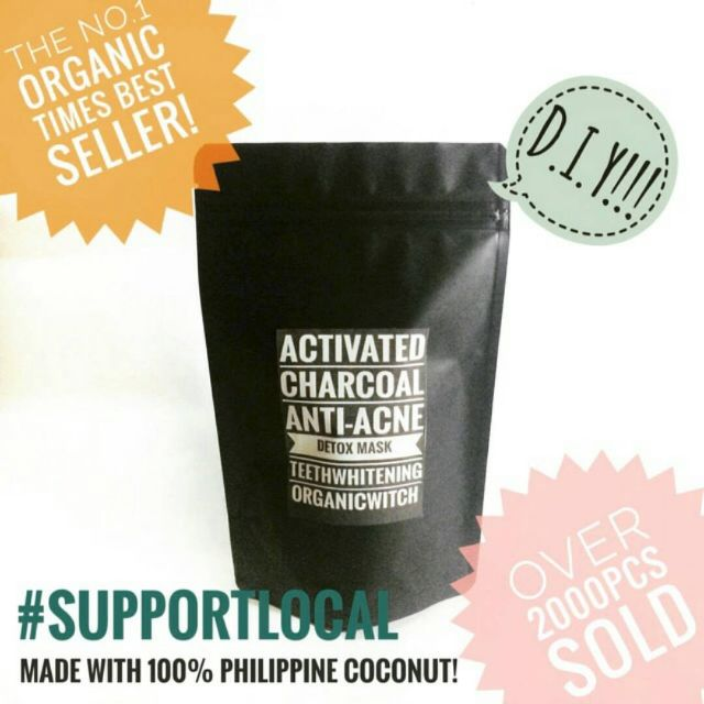 Activated Charcoal 100g