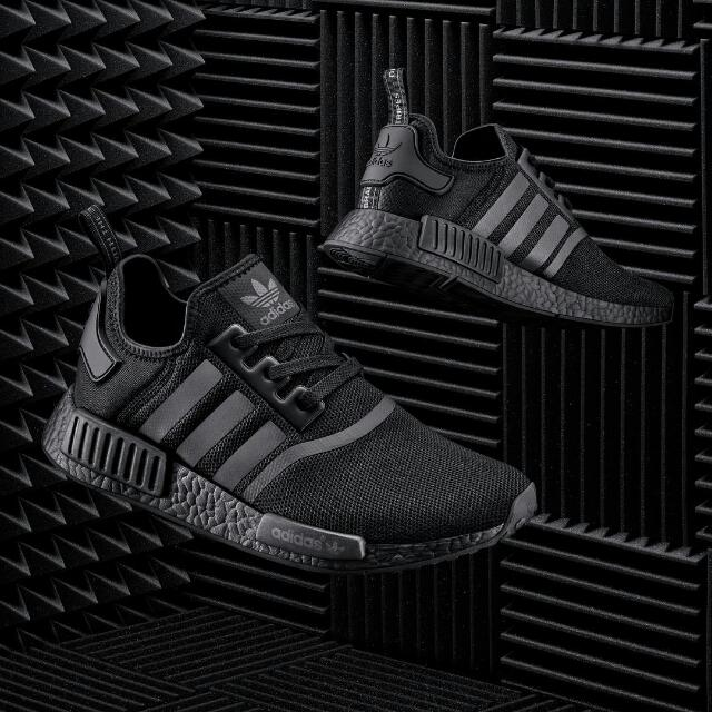 Cheapest Adidas Nmd R1 Triple Black Stock On Hand Men S Fashion