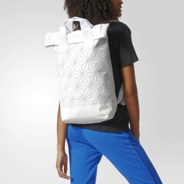 Adidas x Issey Miyake 3D Mesh Backpack White