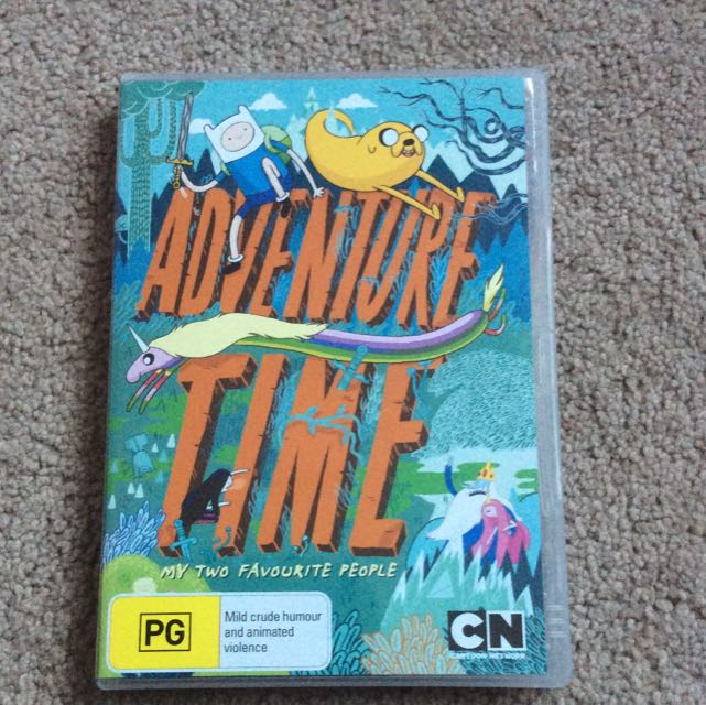 Adventure Time My Two Favourite People DVD