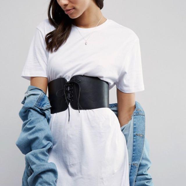 Asos corset belt