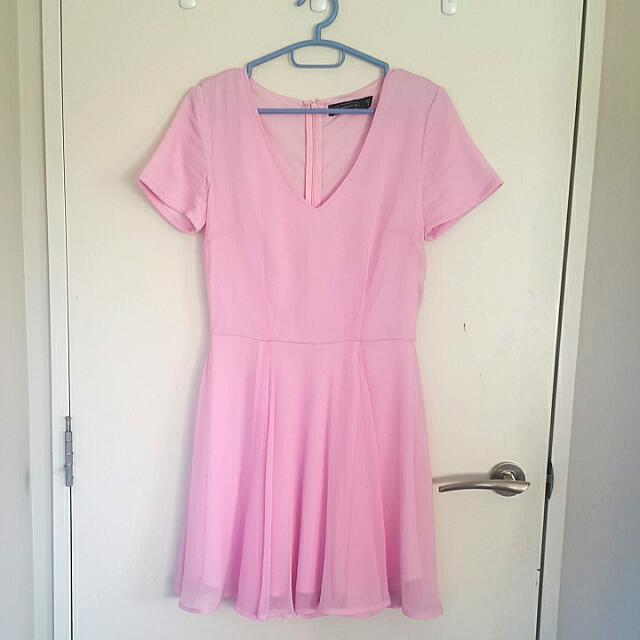 Baby Pink Dress (Glassons)