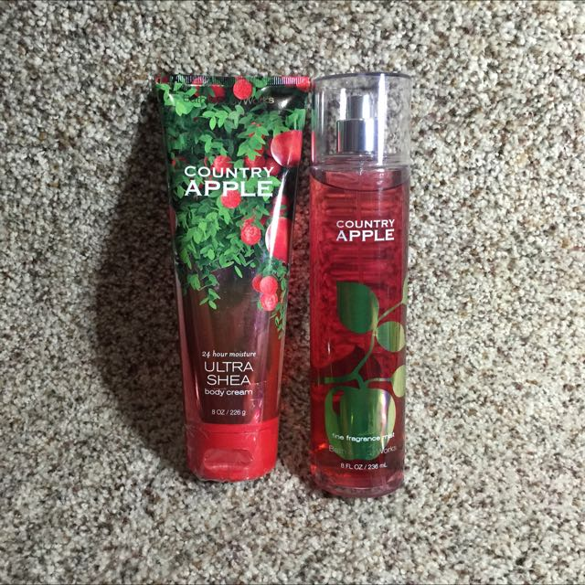 Bath & Body Hand And Body Cream And Perfume Set