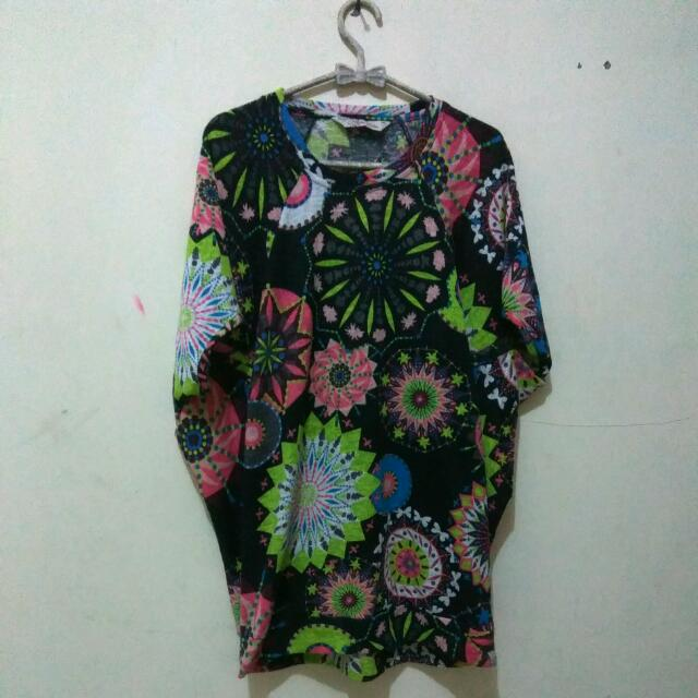 Batwing Colourfull