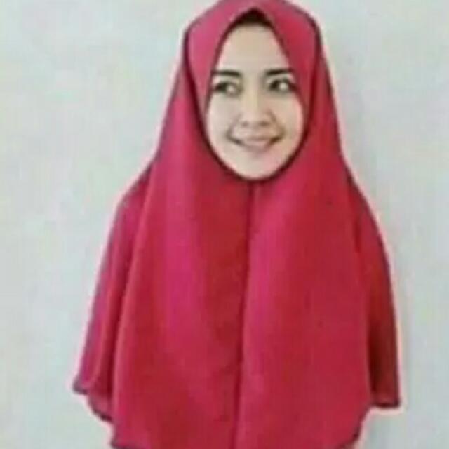 Bergo / Jilbab Terusan / Khimar