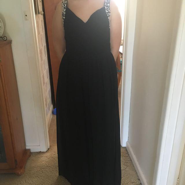 Black Formal Dress Size 12/14