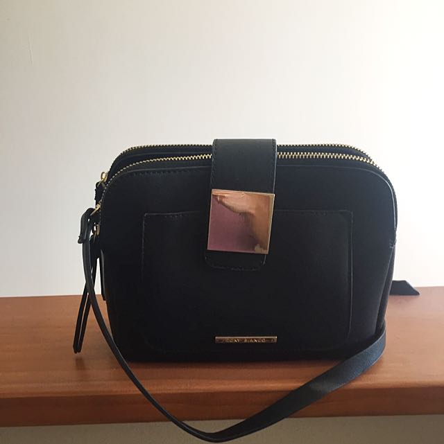 Black Tony Bianco Hip Bag