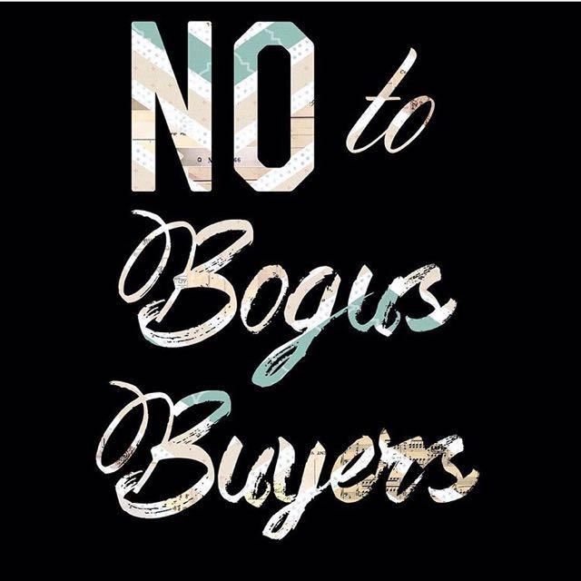 Bogus Buyer! Joy Reserver!