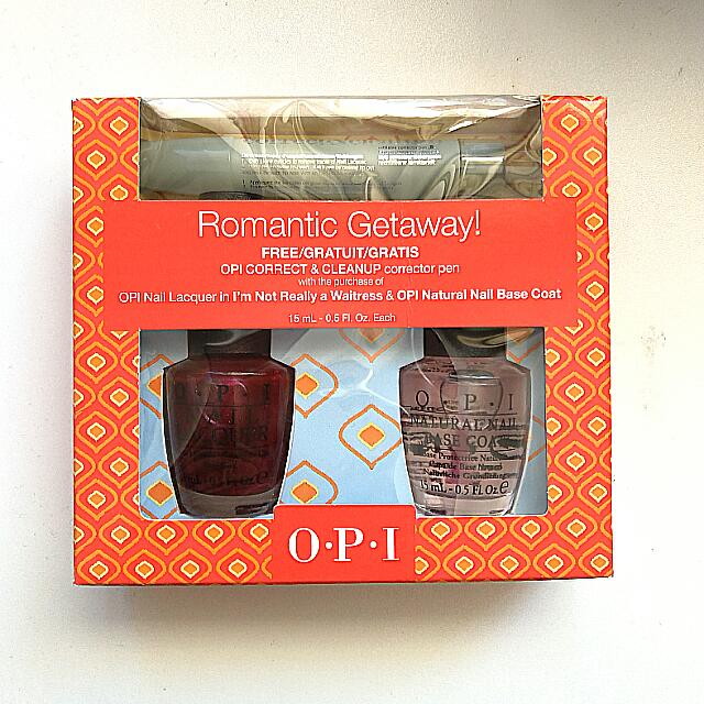 [BRAND NEW] OPI NAIL SET W/ NAIL POLISH CORRECTOR PEN