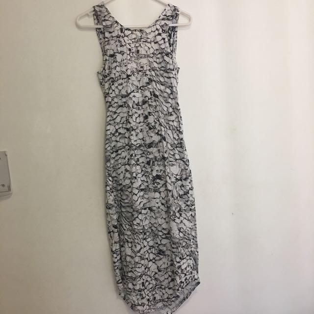 Brand New Premonition Low Back Dress