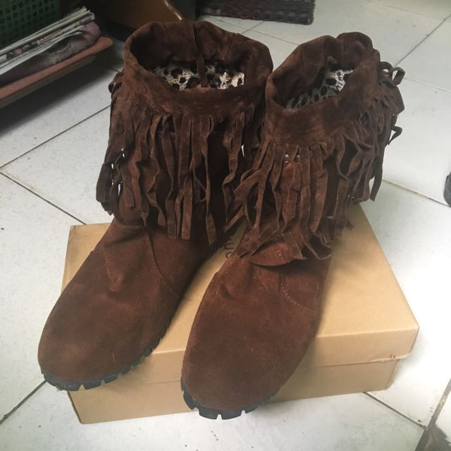 SALE!!!!!✨Brown Boho Boots