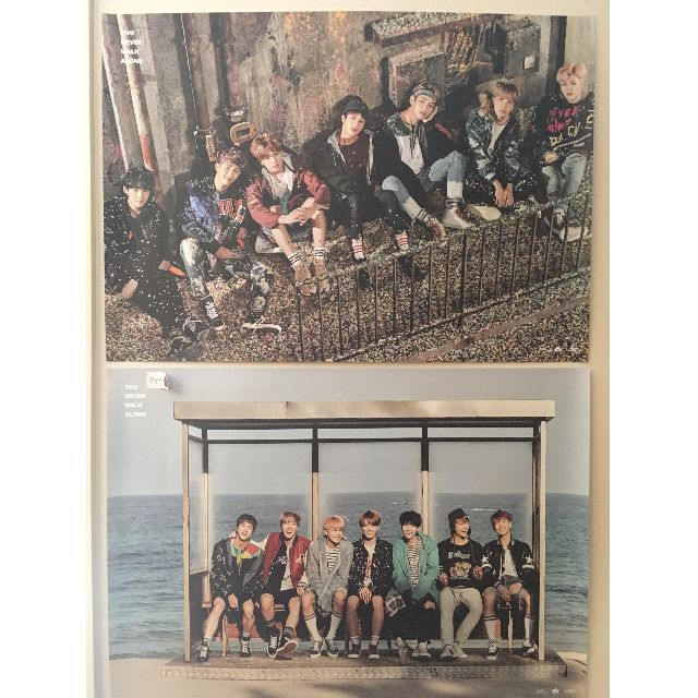 BTS YNWA unfolded official posters