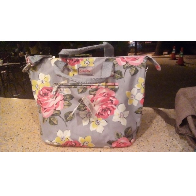 [REPRICE] ORIGINAL Cath Kidston Paris Tote Richmond Dove Grey hand bag