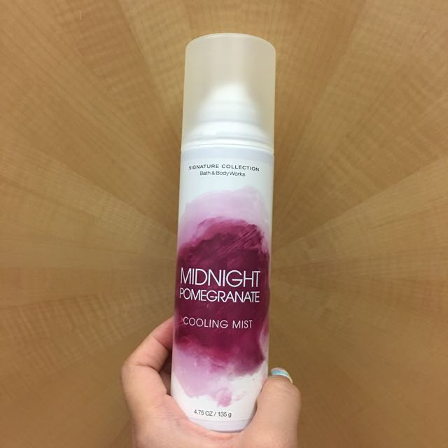 Cooling Mist Midnight Pomegranate Spray
