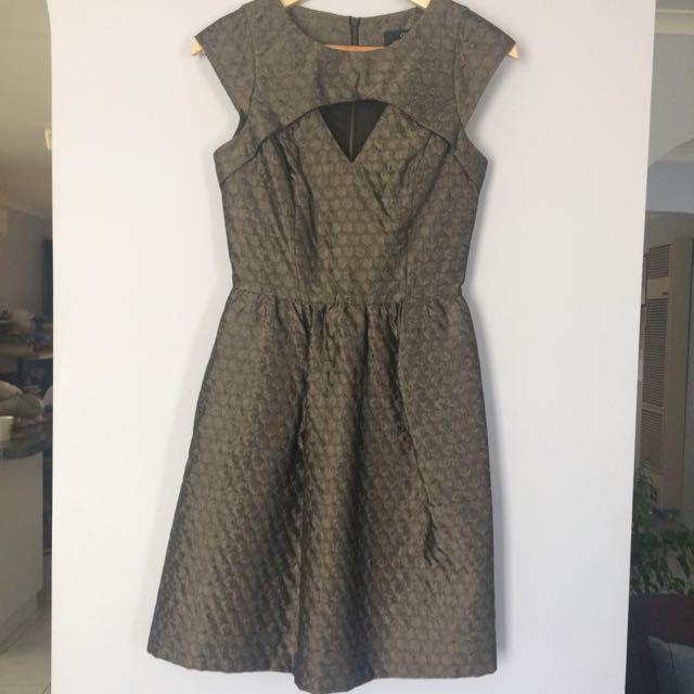 Cue Jacquard Dress