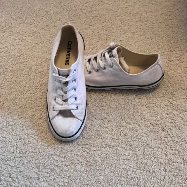 Dainty Low Cut Converse White
