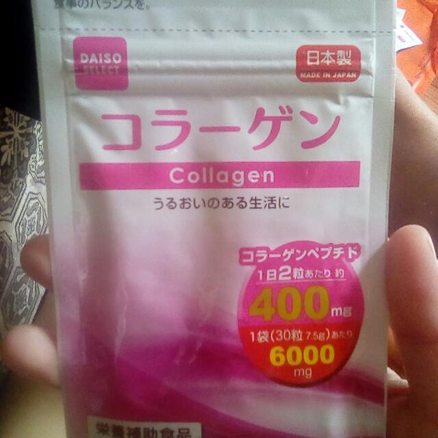 Daiso Collagen (30 tablets) 15days supply