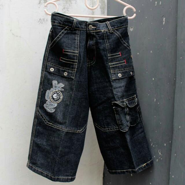 Denim 3/4 Pants
