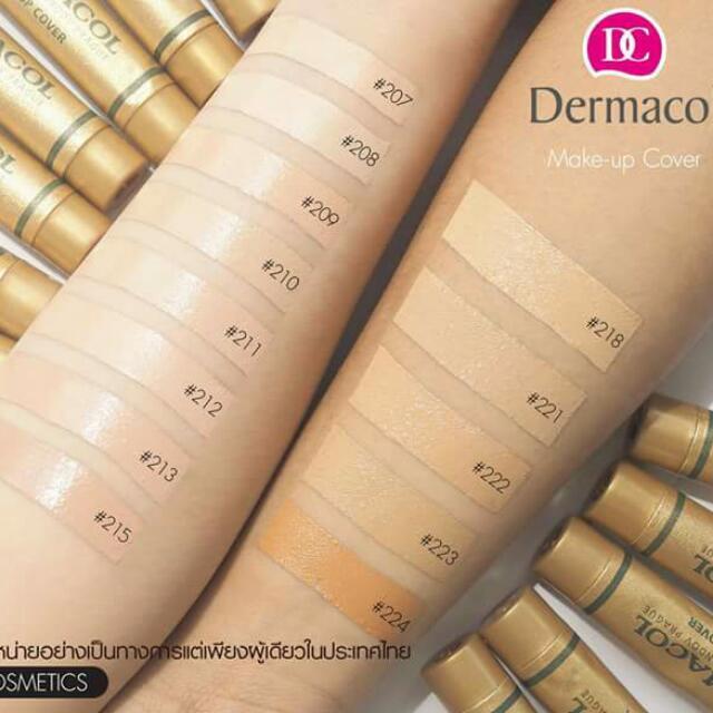 dermacol makeup cover foundation code 221 11street. Black Bedroom Furniture Sets. Home Design Ideas