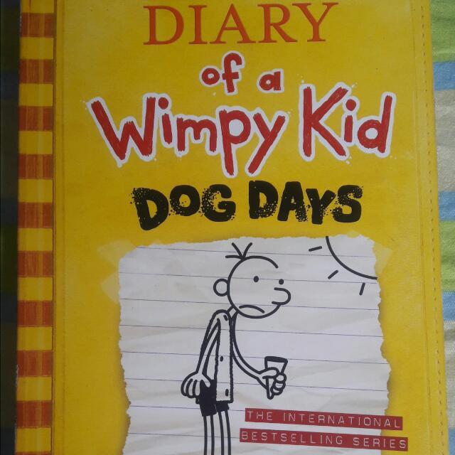 """Diary Of A Wimpy Kid """"Dog Days"""""""