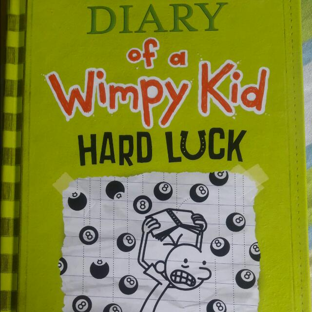 """Diary Of A Wimpy Kid """"Hard Luck"""" (Hard Bound)"""