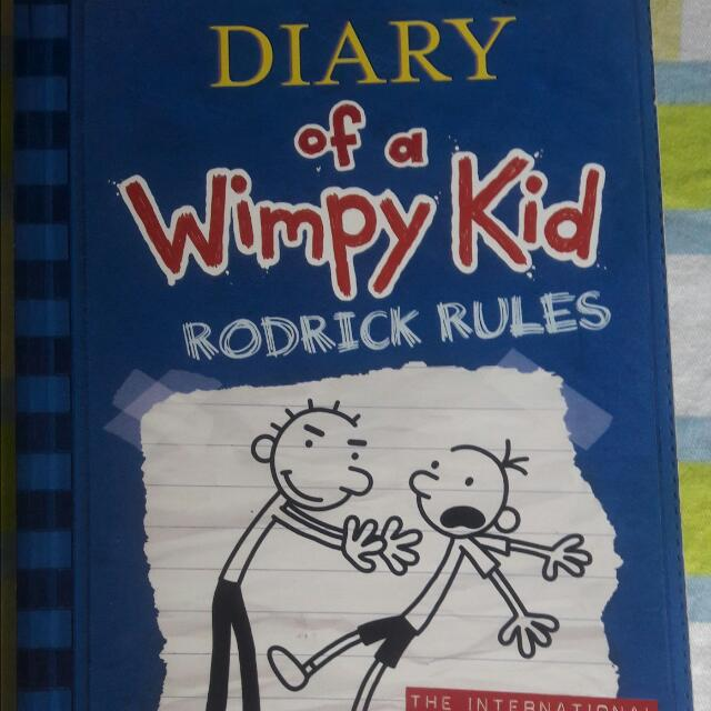 """Diary Of A Wimpy Kid """"Rodrick Rules'"""