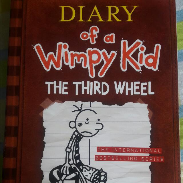 Diary Of A Wimpy Kid (The Third Wheel)