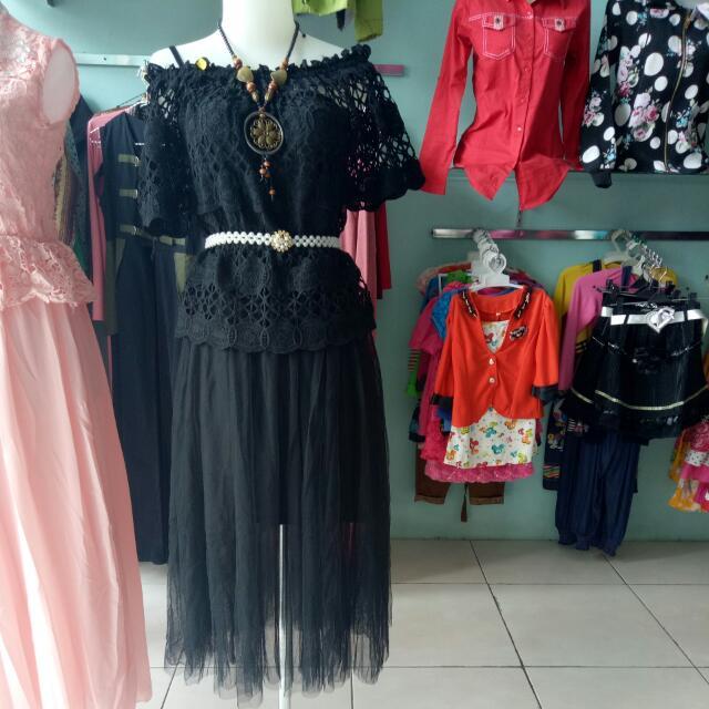 New Dress Sabrina Black