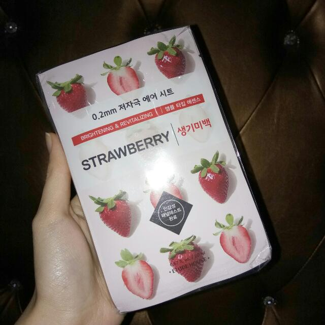 Etude Mask Strawberry