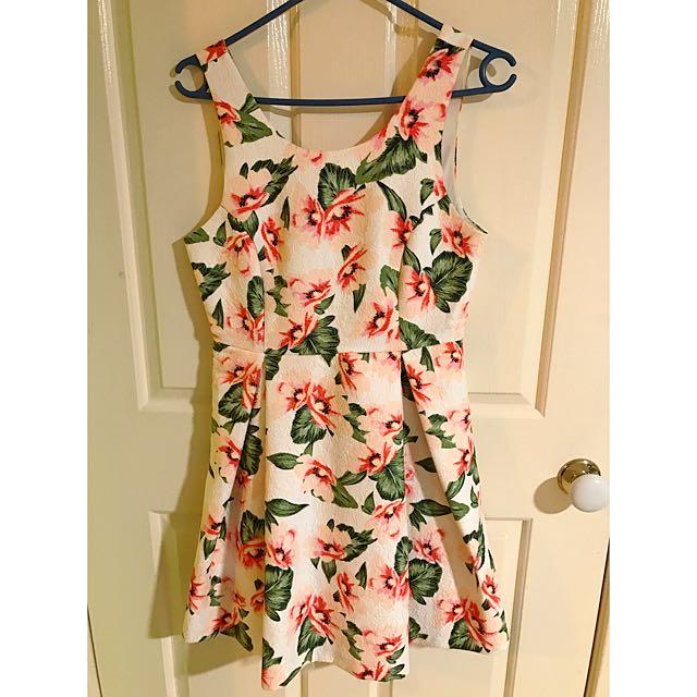 Floral Picnic Dress